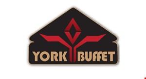 York Buffet logo