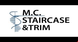 M.C . Staircase & Trim logo