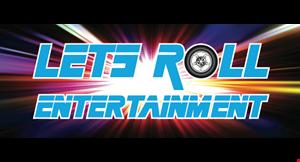 Let's Roll Entertainment logo