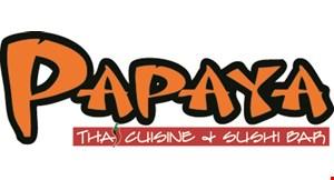 Papaya Thai Cuisine & Sushi Bar logo
