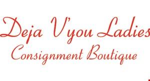 Deja V'you Consignment logo