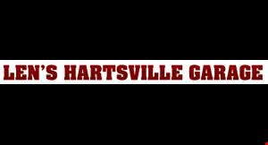 Hartsville Garage logo