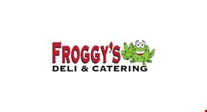 Froggy's Deli & Catering logo