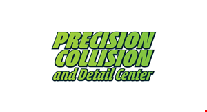 Precision Collision and Detail Center logo