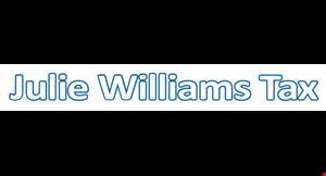 Julie Williams Tax logo