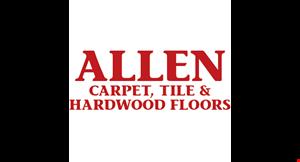 ALLEN CARPET, TILE & HARDWOOD FLOORS logo