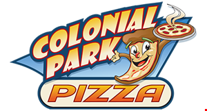 Colonial Park Pizza logo