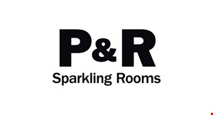 P and R Sparkling Rooms logo