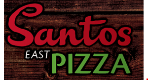 Santos East Pizza logo