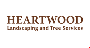 HEARTWOOD LANDSCAPING AND TREE SERVICES logo