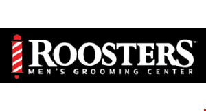 Roosters Men's Grooming Center logo