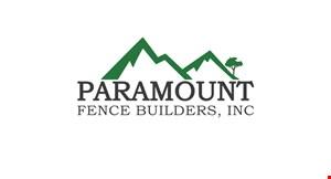 Paramount Fence Builders, Inc logo