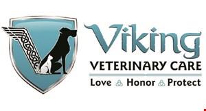 Viking Veterinary Care logo