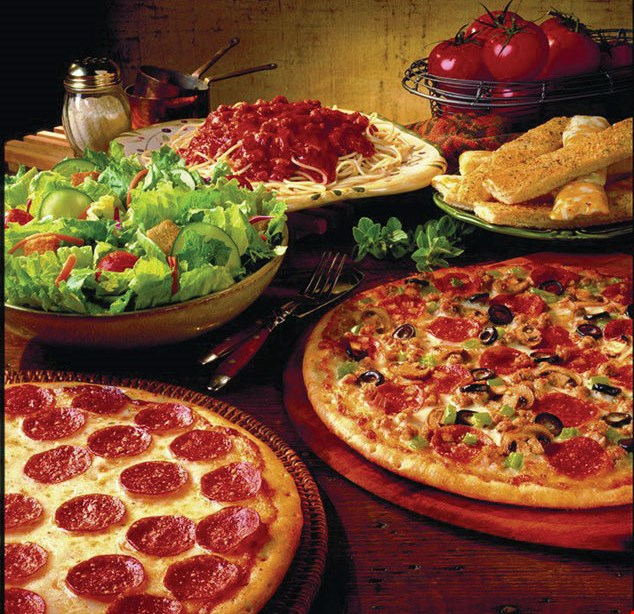 Product image for Gatti's Pizza Dine in special 1 buffet $6.29 or 2 buffets $11.49