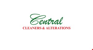 Central Cleaners and Alterations logo