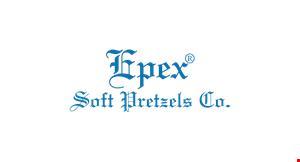 Epex Soft Pretzels Co. logo