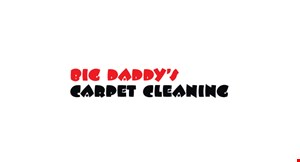 Big Daddy's Carpet Cleaning logo
