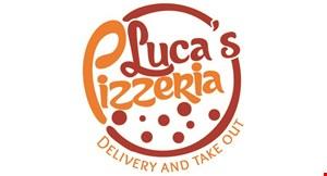 Luca's Pizzeria logo