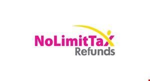 No Limit Tax Refunds logo