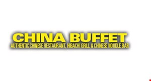 Product image for China Buffet $1 off ADULT LUNCH OR DINNER per person.