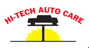 Product image for HI-TECH AUTO CARE $39.95 inspection & emission cars 1996 and newer