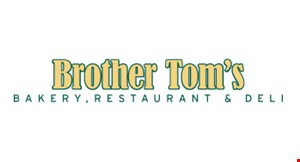 Brother Tom's Bakery logo