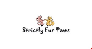 Strictly Fur Paws logo