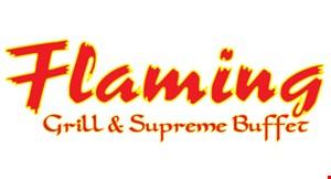 Flaming Grill &  Supreme Buffet logo