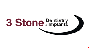 3 Stone Dentistry  & Implants logo