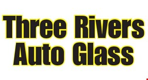 Product image for Three Rivers Auto Glass $10 off any non-insurance service.