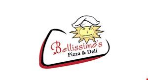 Bellissimo's Pizza &Deli logo