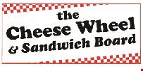 The Cheese Wheel and Sandwich Board logo