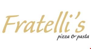 Fratelli's Pizza & Pasta logo