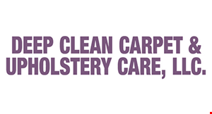 DEEP CLEAN CARPET & UPHOLSTERY CARE, LLC. logo