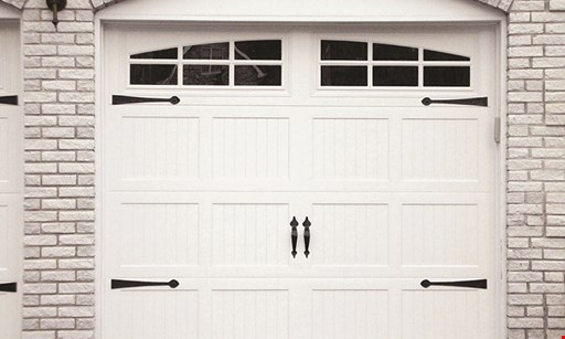 Product image for Garage Door Store $50 off any one standard door. Limit one per customer.