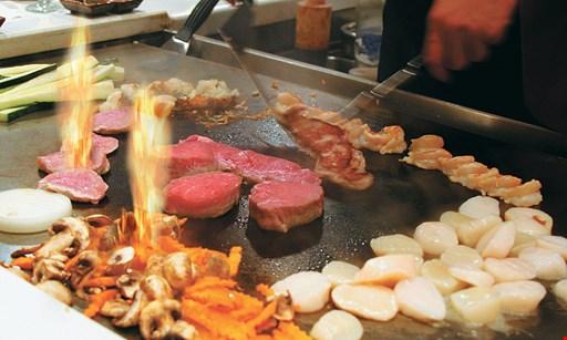 Product image for Sushi Hana Japanese Restaurant FREE birthday hibachi dinner buy 4 hibachi dinners, get birthday hibachi dinner free with ID within 1 week of birthday ($22 value)