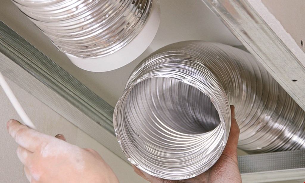 Product image for Clean Air Solutions FREE Dryer Vent Cleaning With Purchase Of Any Air Duct Cleaning Service.