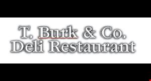 T. Burk & Co. Deli Restaurant logo