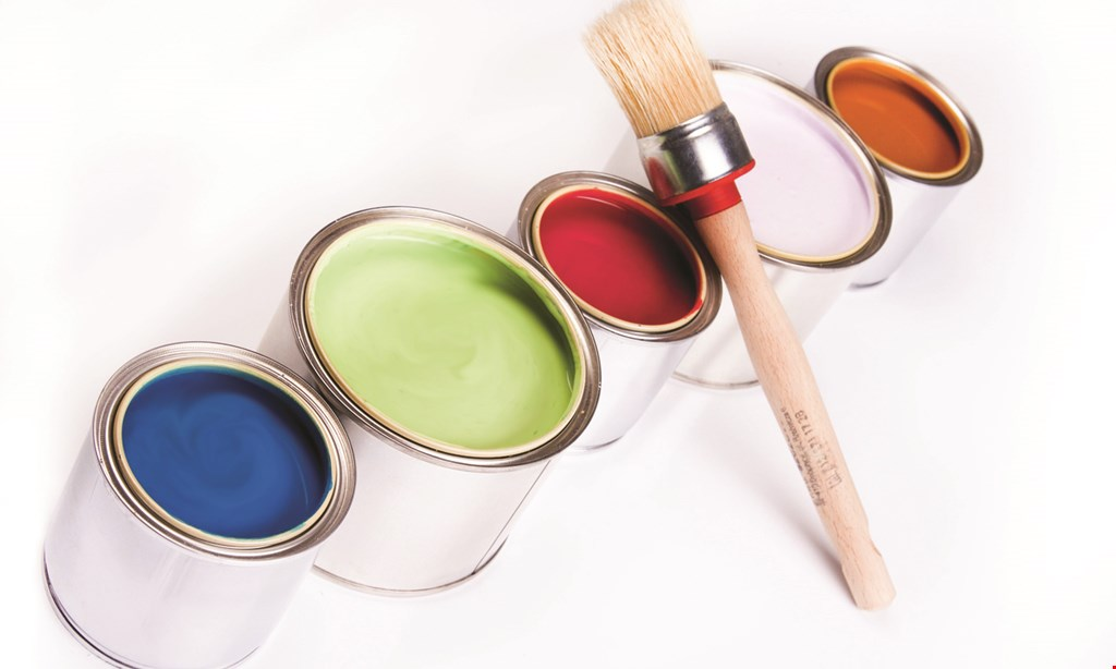 Product image for A+ By Hand Painting $125 OFF any interior paint job over 1,000 sq. ft. of living space.