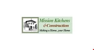 MISSION KITCHENS & CONSTRUCTION logo