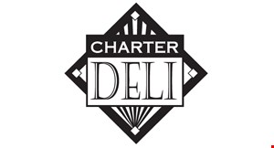 Product image for Charter Deli $5 off any purchase