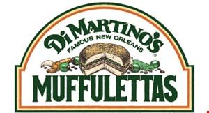 Product image for Di Martino's Muffulettas $10.75 plus tax spaghetti with meatballs platter.