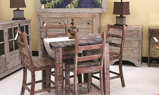 Product image for Paso Robles Furniture 25% Off all in-store furniture.