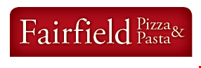 FAIRFIELD PIZZA & PASTA logo