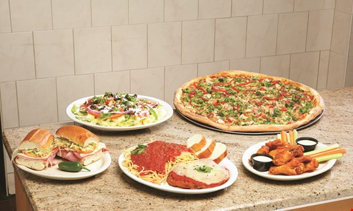 Product image for FAIRFIELD PIZZA & PASTA $13.99 pick any* 2 pasta dinners. Includes: salad & garlic bread · *meatballs & chicken extra.