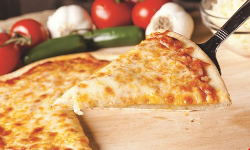 """Product image for FAIRFIELD PIZZA & PASTA $12.49 14"""" large 1-topping pizza."""