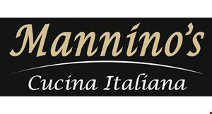 Product image for Mannino's Cucina Italiana $10 toward your next dining experience of $50 or more.