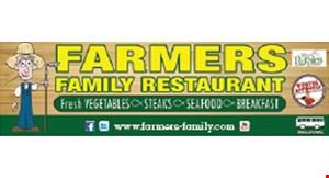 Farmers Family Restaurant logo