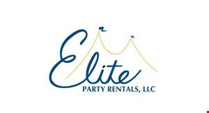 ELITE PARTY RENTALS logo