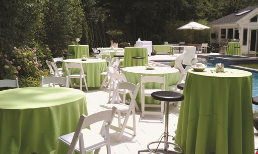 Product image for ELITE PARTY RENTALS $5Off 2 Dinnerswith purchase of 2 drinks (specials not included)